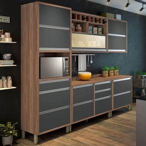 Cozinhas-Nesher-Cozinha-Compacta-Baronesa-7-PT-8-GV-Grafite-e-Marrom-4991-161417-1-zoom--1---2-